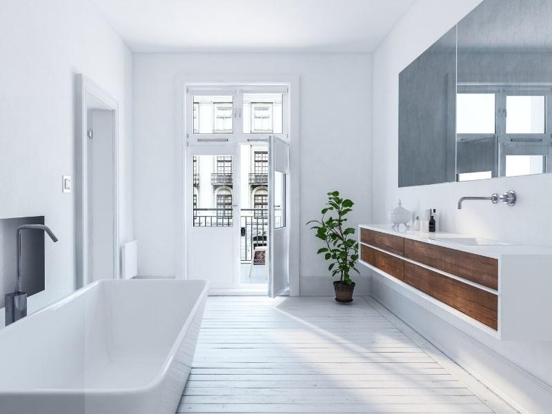 renovation d une salle de bain dans un appartement par un courtier homy conseil
