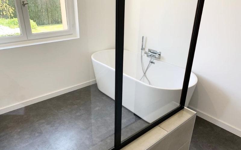 apres travaux renovation salle de bain