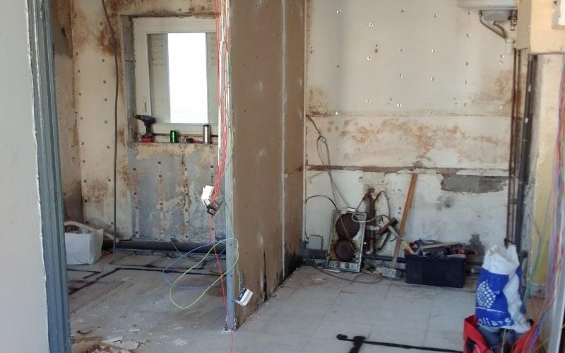 appartement avant travaux renovation