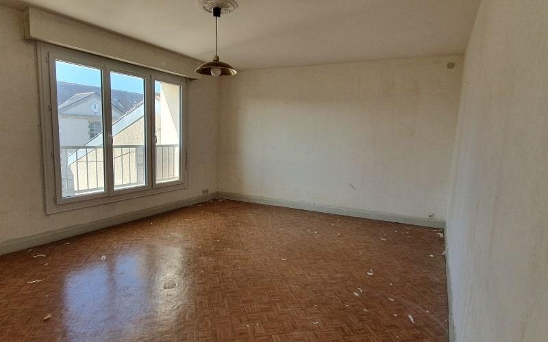 salon avant renovation