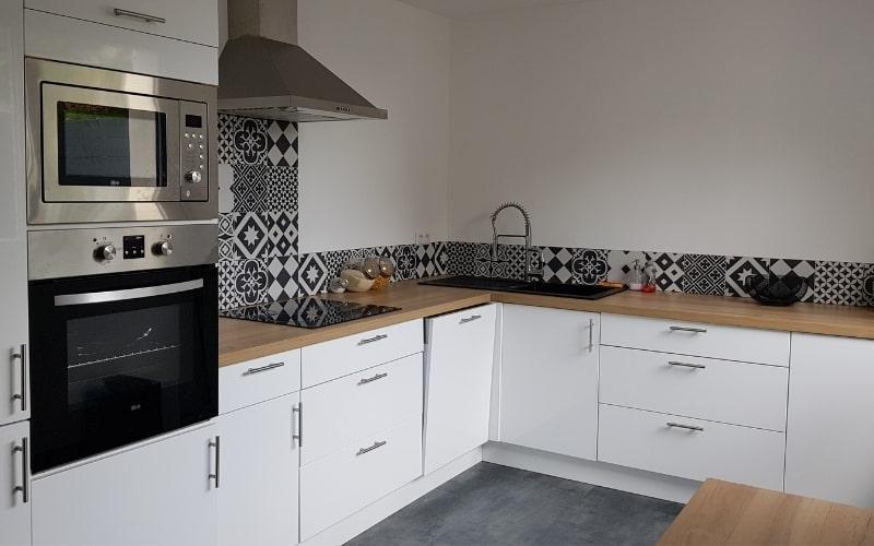 cuisine apres travaux renovation