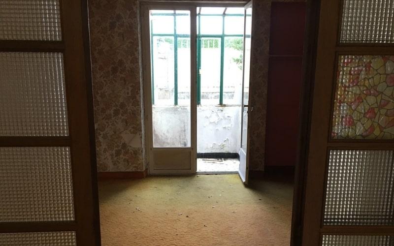 salon avant travaux renovation